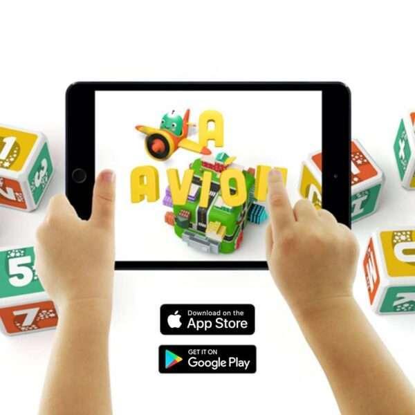 PleIQ Bilingual App Stores