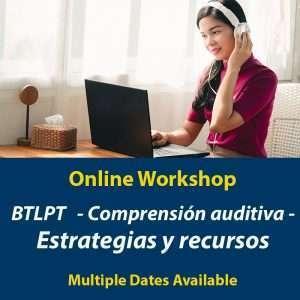 BTLPT - Taller de comprensión auditiva