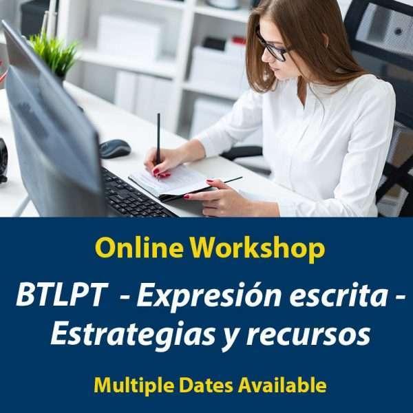 BTLPT - Taller de expresión escrita