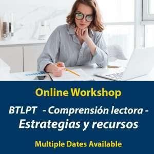 BTLPT - Taller de compresión de lectura