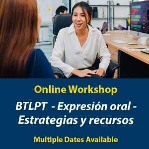 BTLPT - Taller de expresión oral