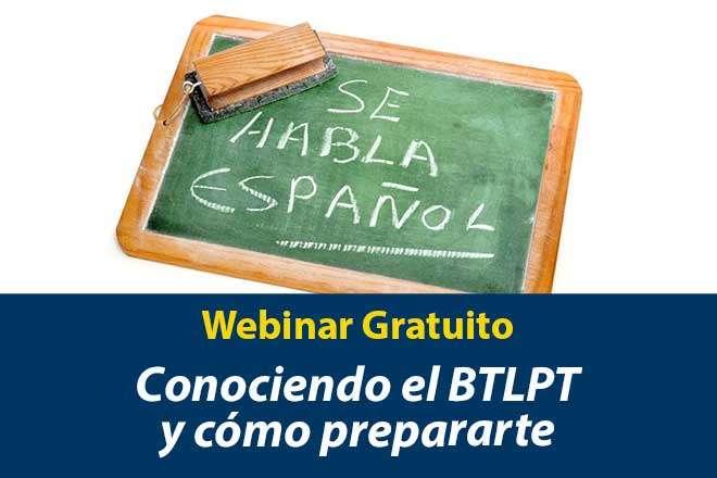 BTLPT Webinar Gratuito