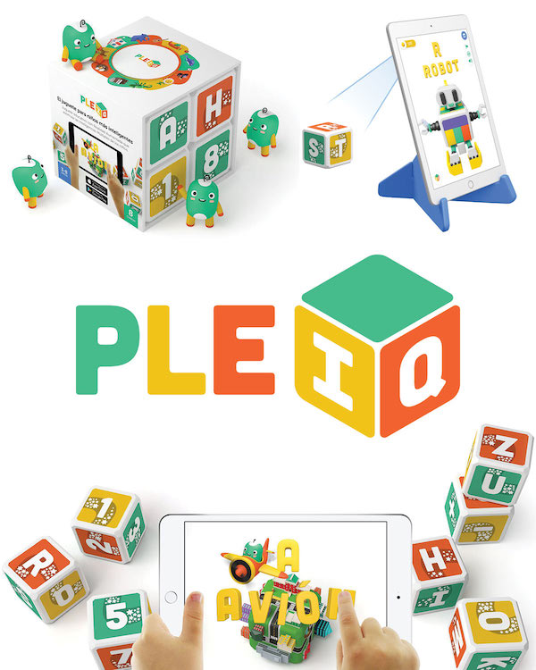 PleIQ Educational Smart Bilingual Blocks