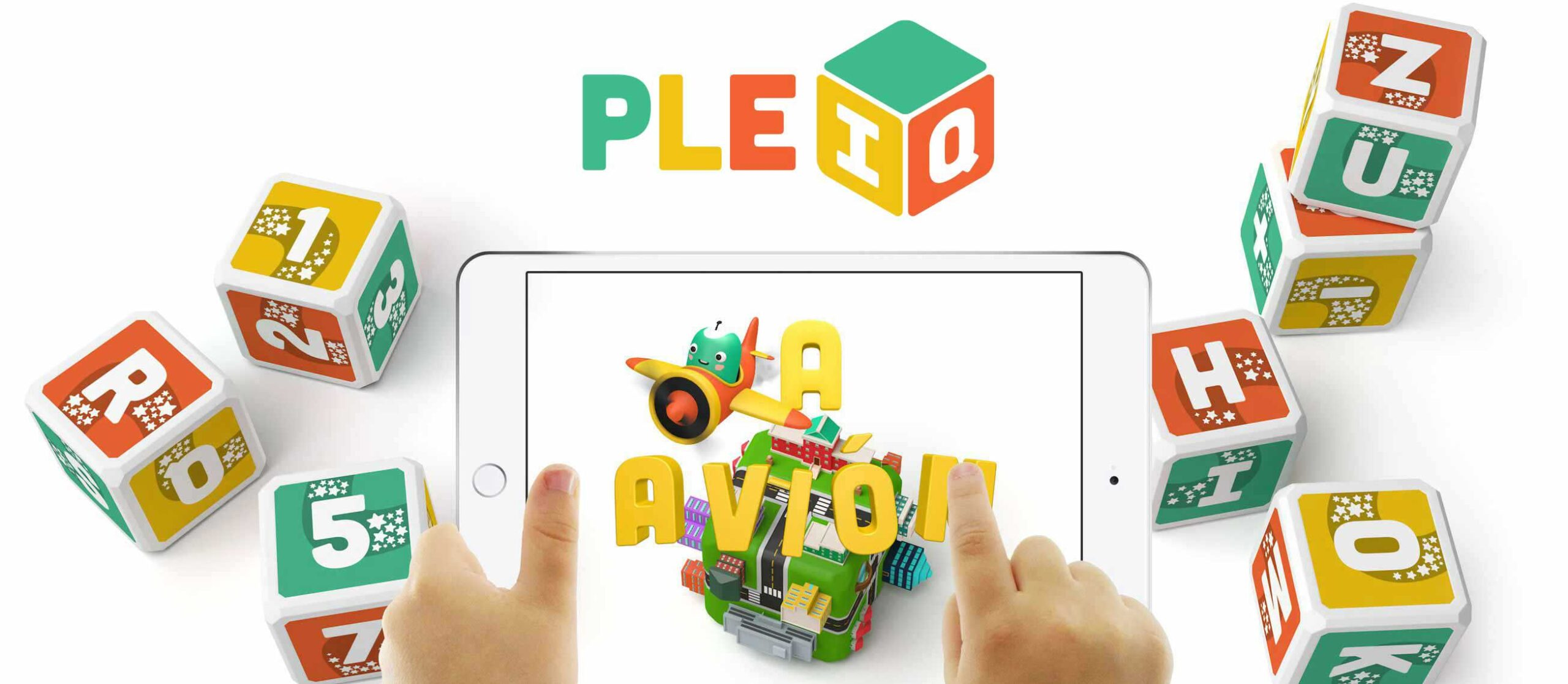 PleIQ Educational Bilingual Smart Cubes