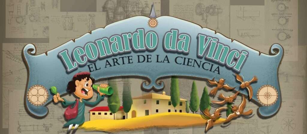 Leonardo da Vinci libro bilingüe para niños