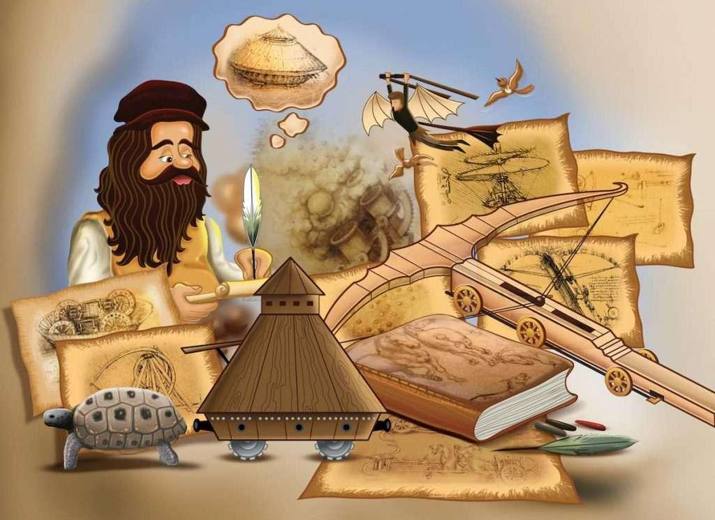 Los cuadernos de Leonardo da Vinci