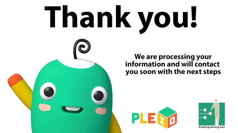 Thank you! - PleIQ Pilot Program