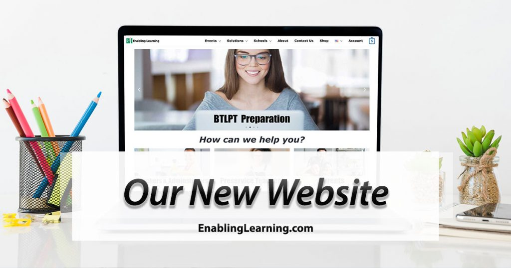 Our New Website - EnablingLearning.com