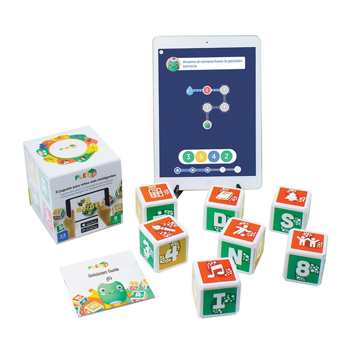 PleIQ Smart Cubes Set and User Guide